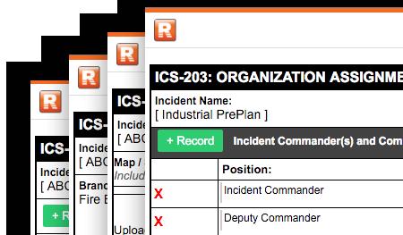 Enhanced ICS Forms | Rhodium Incident Management