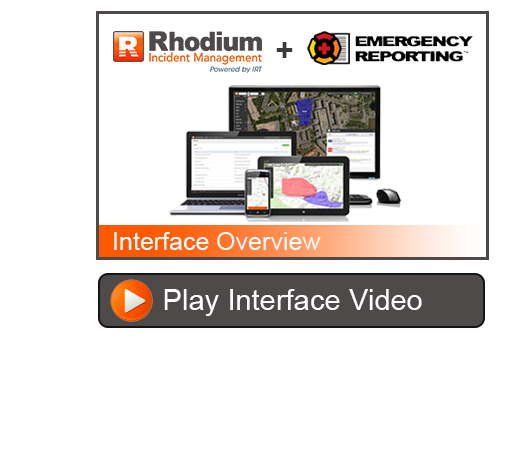 occupant emergency plan template - emergency reporting interface rhodium incident management